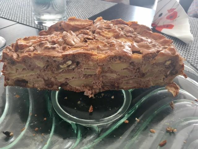 Gyors almatorta gluténmentesen és cukor nélkül